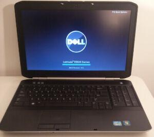 "Dell Latitude 15.6"" laptop  Core i5 with SSD - HDMI - Webcam"