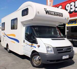 2010 FORD TRANSIT WALLBANGER 2.4L TURBO DIESEL MOTORHOME Cannington Canning Area Preview