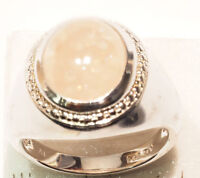 Sterling Silver Morganite (7.8g) Ring For Sale by Online Auction
