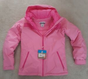 Womans Vintage Columbia Jacket - Pink