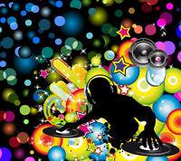 DJ musique  - laser-   200$ pour toute la soirée. TOUT INCLUT