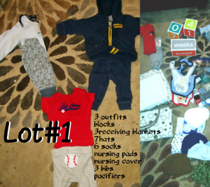 Everything you need for newborn baby boy