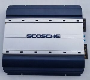 SCOSCHE SA550 550 WATT 2 Channel Bridgeable Ampli