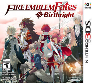 Fire Emblem Fates Birthright sur 3DS