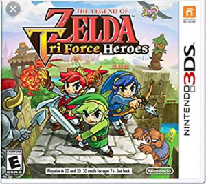 The legend of Zelda triforce heroes 3ds / will trade