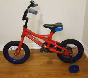 Miele BB12 bike with Training Wheels and Bell