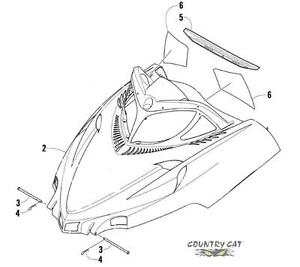 ARCTIC CAT 2012 PROCLIMB M 1100 TURBO HCR PDF SERVICE