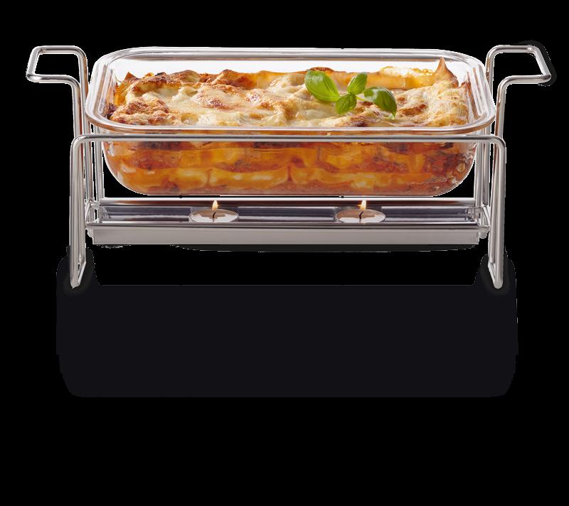 LEONARDO gusto Speisewärmer mit Auflaufform
