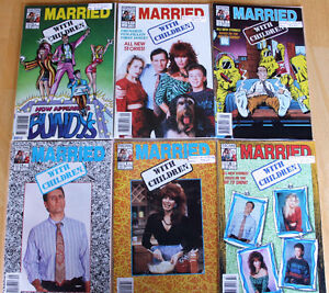 Married with Children Comic Book Collection (10 comic books)