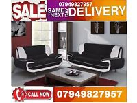Italiaan 3 A nd 2 SEATER SOFA available In RED