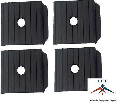 4 Pack Of Anti Vibration Pads 3 X 3 X 1 All Rubber Vibration Isolation Pads