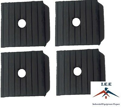 4 Pack Medium Anti Vibration Isolation Pads Air Compressor Heavy Equipment 3x3x1