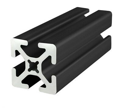 8020 Inc Tslot 15 Series 1.5 X 1.5 Aluminum Extrusion 1515-s-black X 72 Long N