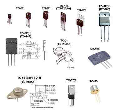 Tip31c - Transistor Lot Of 5 A-b54