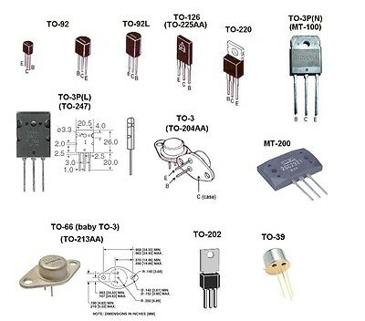 Mpsu10 Motorola To-202 5 Pack Silicon Audio Transistor Free Us Shipper