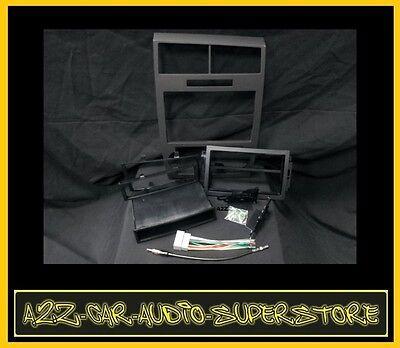 Radio Stereo Car Installation Kit Dash Double Din Gps Nav Navigation Black (Best Navigation Cars)