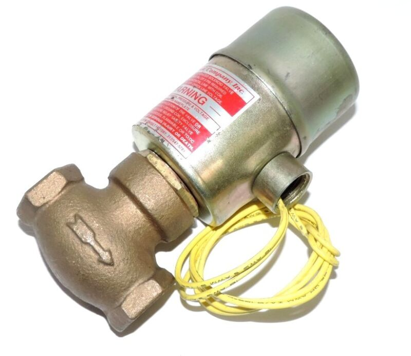 """GOULD COMPANY TYPE G-3 3/8"""" SOLENOID VALVE 5-150 MAX PSI 120 V"""