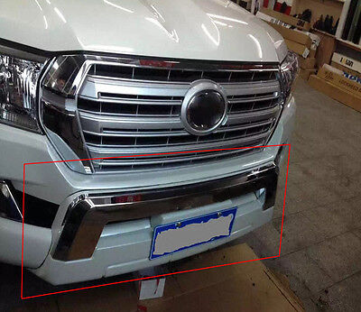 For Toyota Land Cruiser LC200 16-18 Car Front Bumper Protector Bull Bars Tow Eye