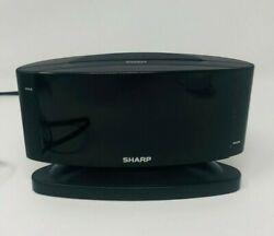 SHARP Home LED Digital Alarm Clock – Swivel Base - Outlet Powered