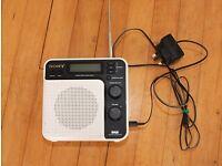 Sony DAB/FM digital radio XDR - S7