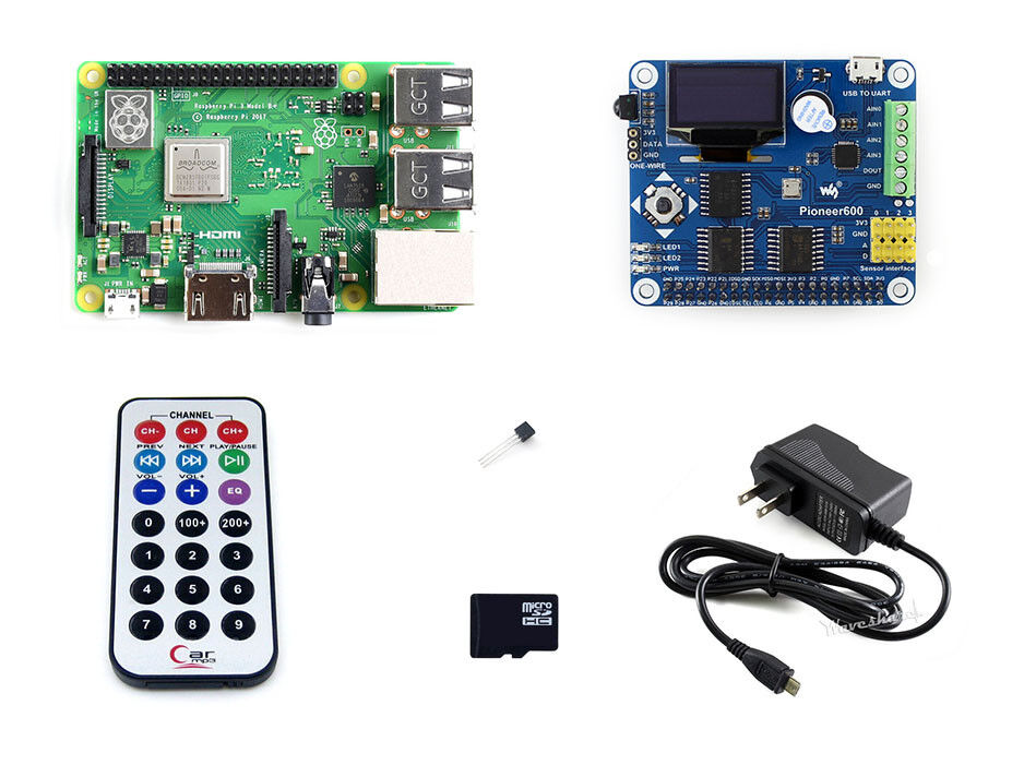 Raspberry Pi 3 Model B+  Development Kit B with Expansion Bo