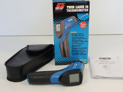 Es Twin Laser Ir Infrared Thermometer Est-67