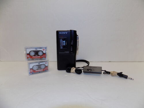 Sony Pressman M-627V Microcassette Voice Operated Recorder - PARTS / REPAIR
