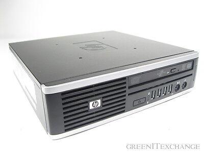 HP COMPAQ 8000 ELITE ULTRA-SLIM DESKTOP CORE 2 DUO 3.00 GHZ 2GB RAM W/ ADAPTER