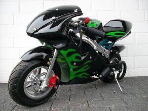 pocketbike mini motorrad ebay. Black Bedroom Furniture Sets. Home Design Ideas