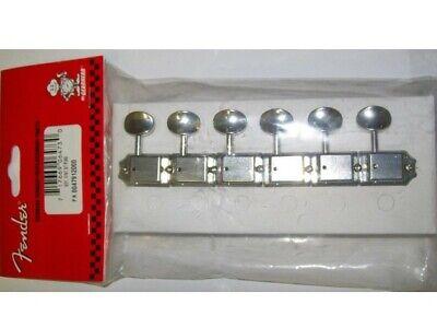 6 Fender Logo Fender Player Strat Machine Head Tuning Pegs Fits Strats /& Teles