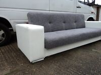 New sofa bed Clara,Sofa bed with storage,Amk Furniture,Double bed,Polskie wersalki narozniki
