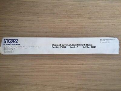 Karl Storz 27050j Straight Cutting Loop .35mm 24fr