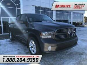 2016 Ram 1500 Sport| Low KM| Cloth/Leather| Remote Start