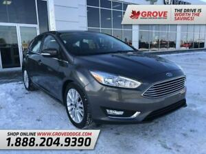 2017 Ford Focus Titanium| Low KM| Sunroof| Leather