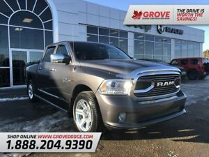 2016 Ram 1500 Limited| Leather| Sunroof| 4X4| Remote Start