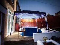 Monaco 8 man rigid hot tub