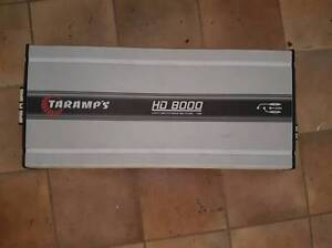 Taramp's HD8000 Amplifier 1ohm Eden Hill Bassendean Area Preview