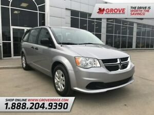 2018 Dodge Grand Caravan Canada Value Package| Cloth| Low KM