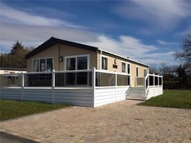 Static Caravan for sale luxury lodge in Newquay Cornwall on prime spacious pitch. Close to beaches