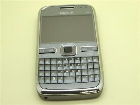 NOKIA E72 - 5MP CAMERA - 3G - WIFI - METAL GREY - BOXED - BRAND NEW