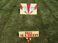 Wedding Village Fete Lawn Garden Game - Ball In A Bucket