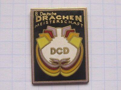 DCD / 8. DEUTSCHE DRACHEN MEISTERSCHAFT  ....... KITE / DRACHEN Pin