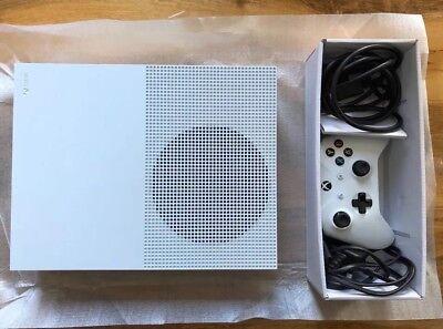 Microsoft Xbox One S Console 1TB - White