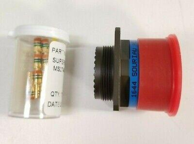 Souriau Circular Mil-spec Connector Plug D3899920we6pn