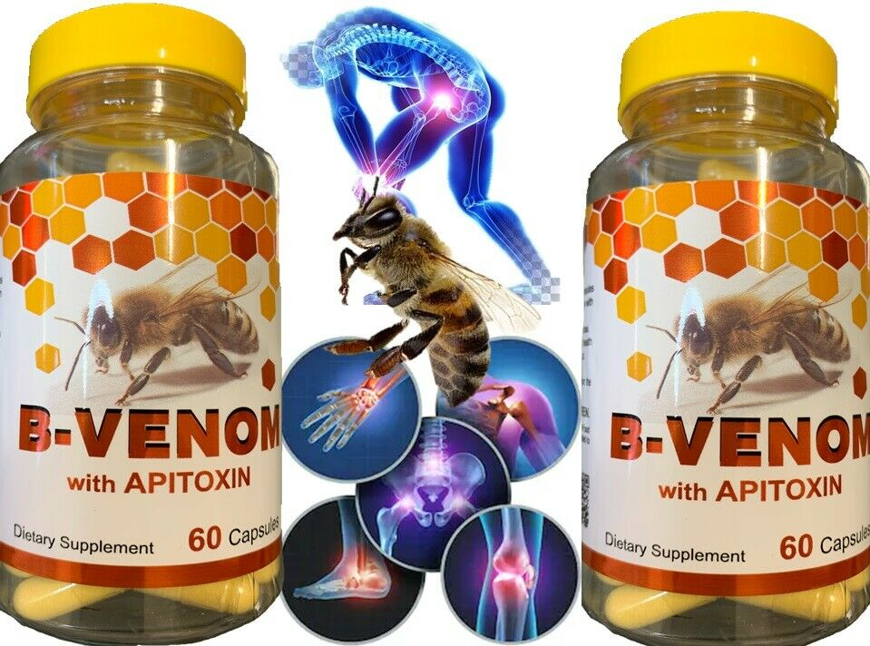 2 Bio Bee Therapy Venom Extract anti-inflammatory Miracle Arthritis Pain Cure
