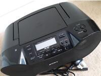 Sony DAB+ Radio with Bluetooth / cd mp3 / nfc / megabass / usb play