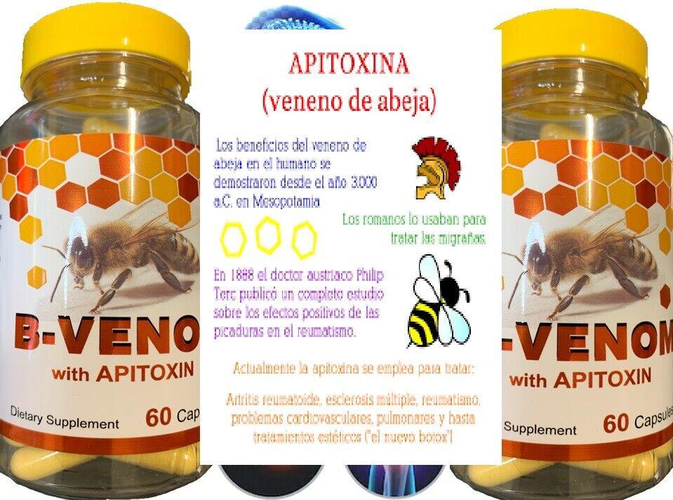 2 Bio Bee Therapy Venom Extract anti-inflammatory Miracle Arthritis Pain Cure 5