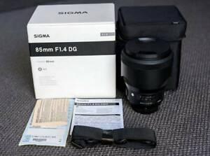 Sigma 85mm f1.4 ART for Nikon (local warranty)