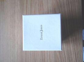 Ernest Jones Platinum Diamond Engagement Ring Size N