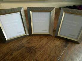 3 Dunelm photo frame